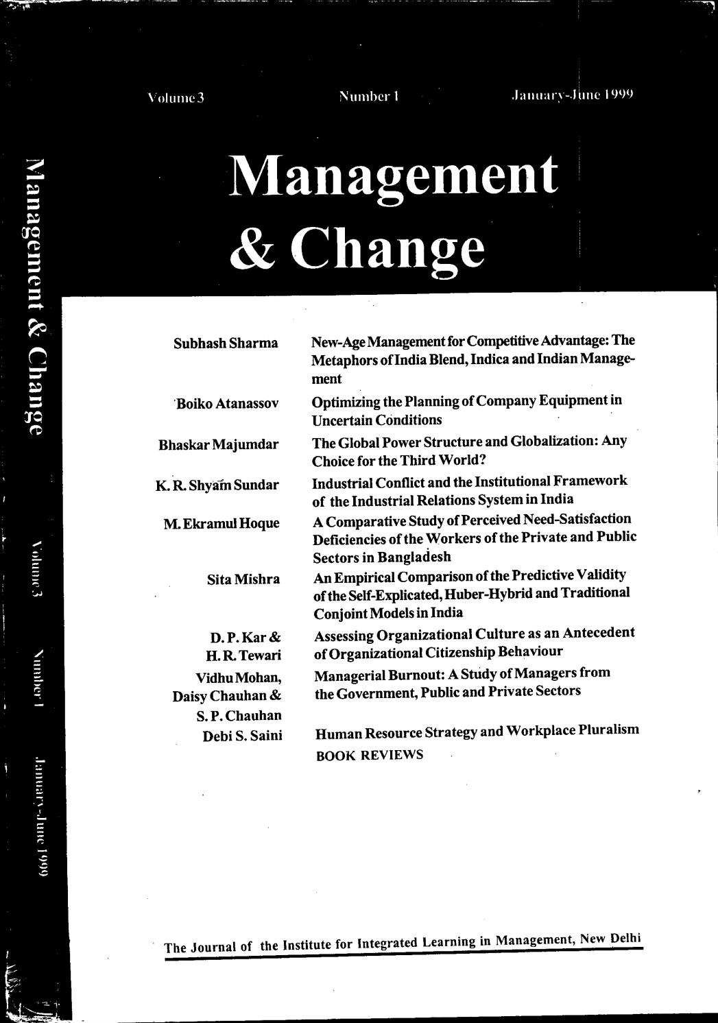 Management & Change by IILM Institute for Higher Education