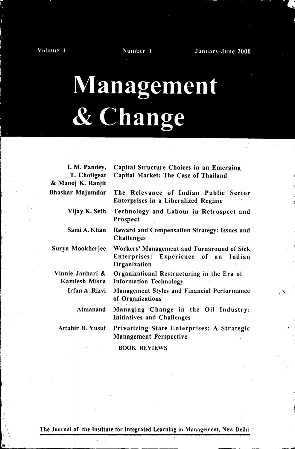 Management Change By Iilm Institute For Higher Education Issuu Maruti 800 Technical Issues And Solutionsacwiringjpg