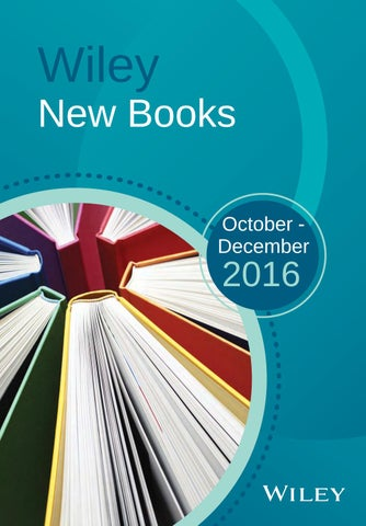 wiley new books catalog oct dec 2016 by wiley india issuu