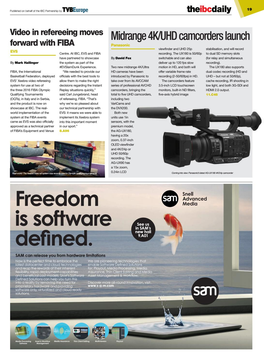 IBC2016 Daily D5 Tuesday 13 September by Future PLC - issuu