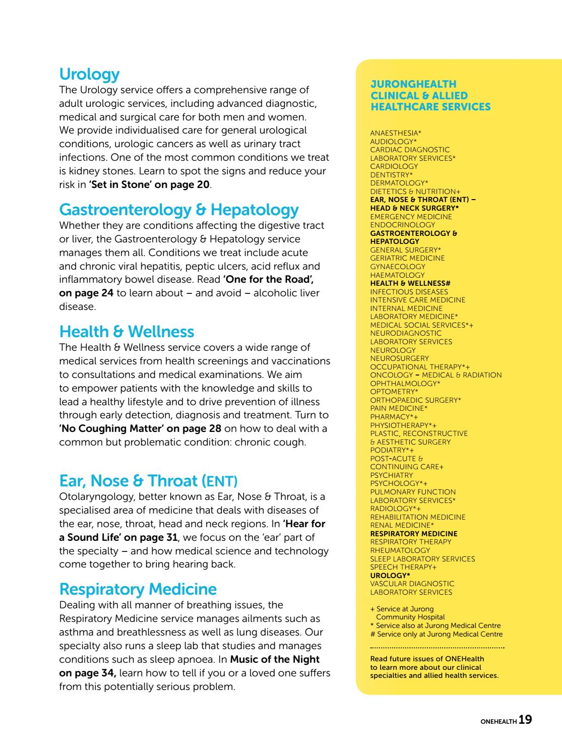 ONEHealth Issue 8 by JurongHealth Campus - issuu