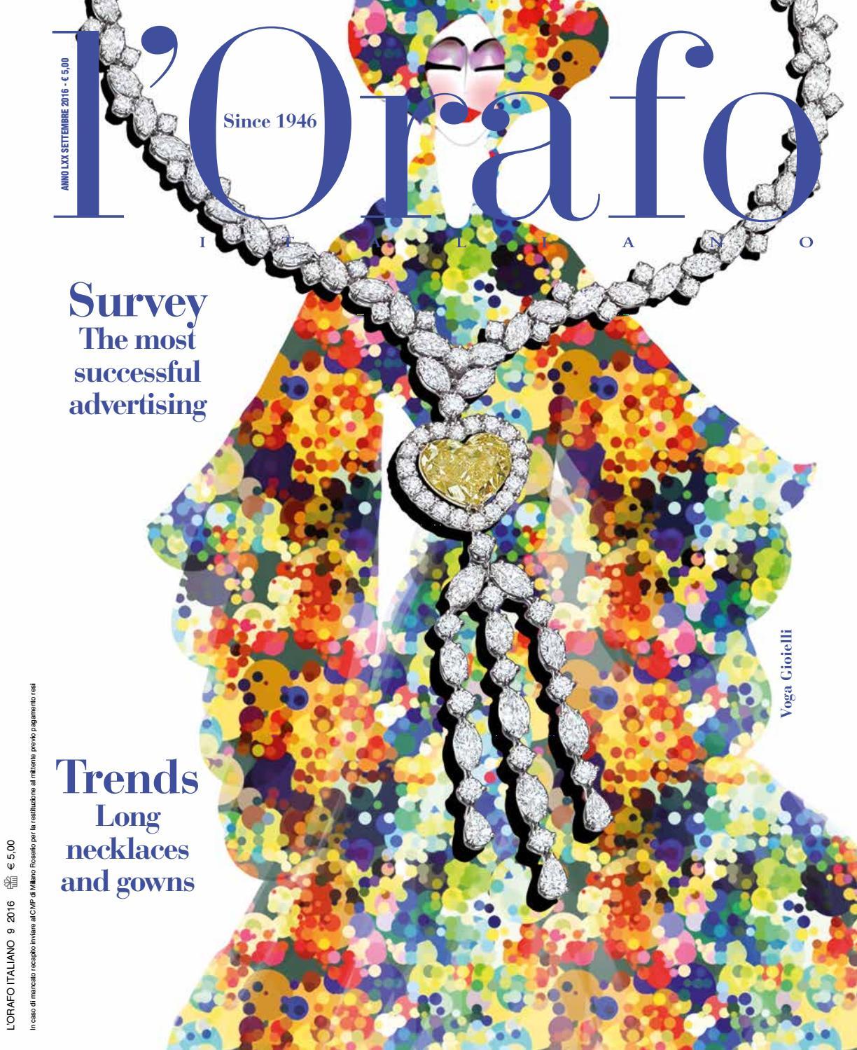 l Orafo Italiano 09 2016 by Edifis - issuu d3d00c48f7c