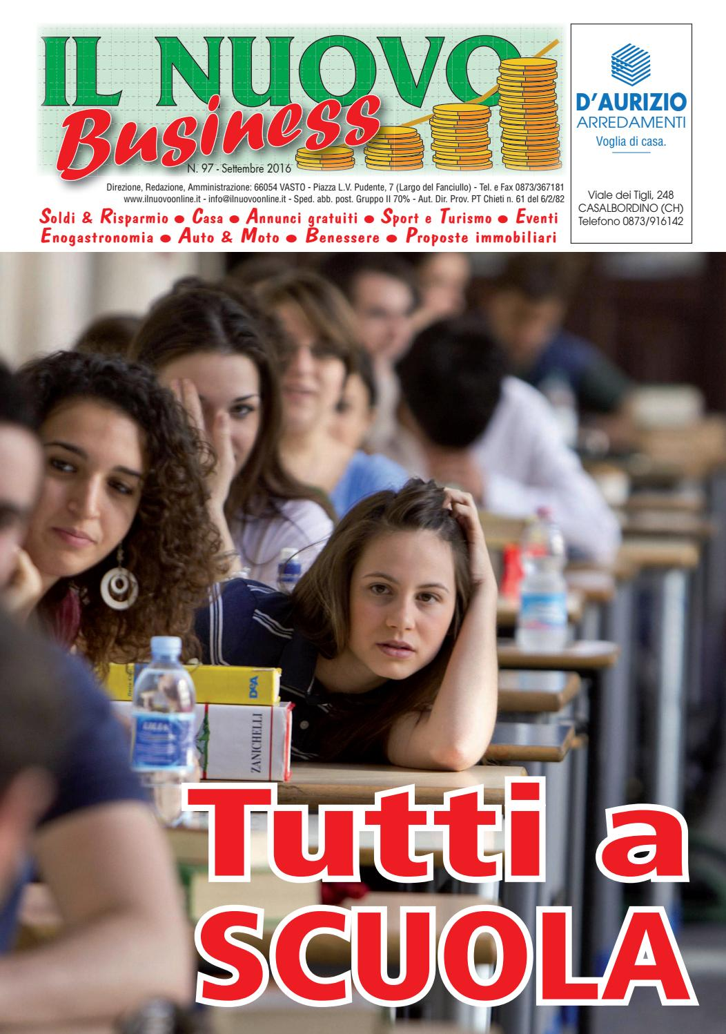 Business settembre 2016 by nicolangelo gualtieri issuu for Gualtieri arredamenti