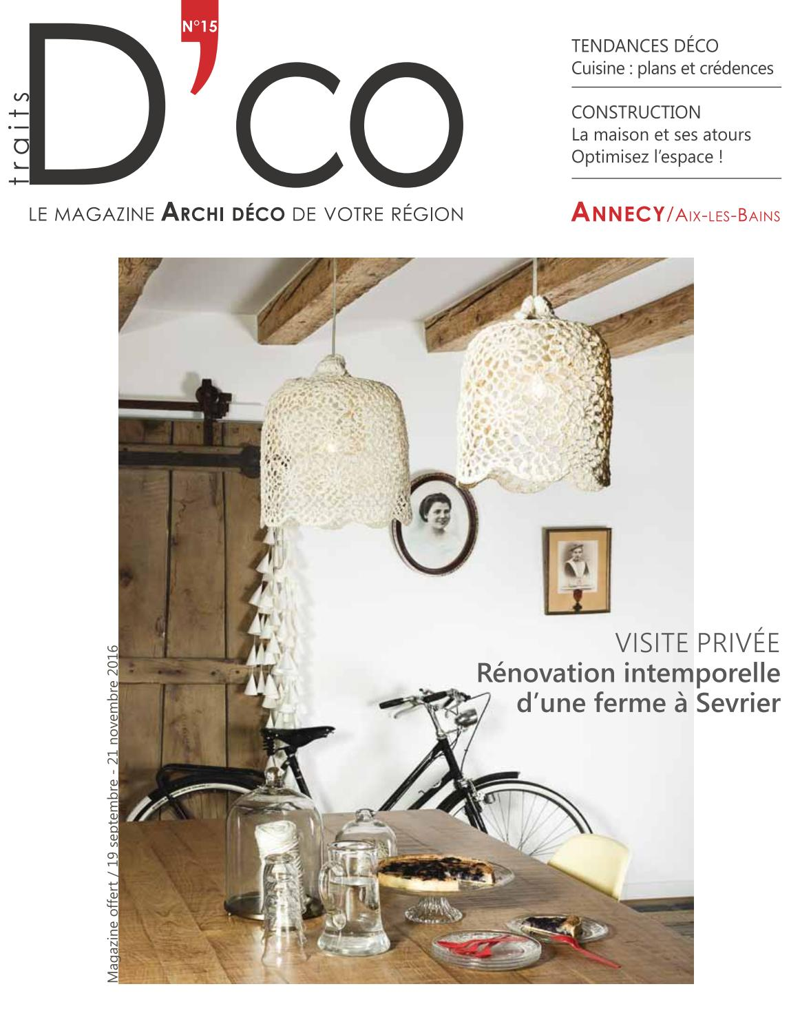 Les N15 Aix Septembre By Magazine Annecy 2016 Dco Bains Traits gb7Yf6vy