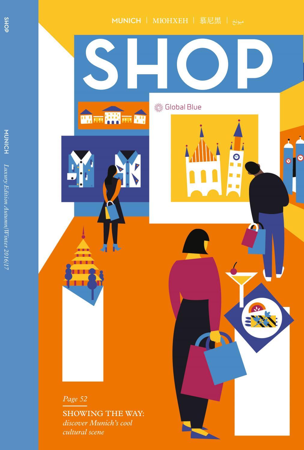 SHOP Munich AW16 by SHOP | Global Blue - issuu