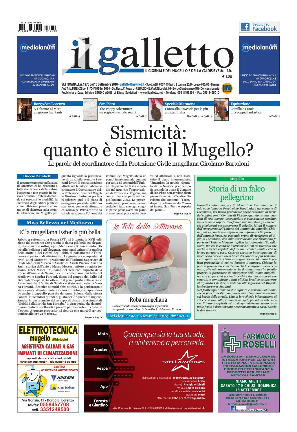 Galletto 1270 del 10 settembre by Il Galletto Giornale - issuu 59d529d4e35f