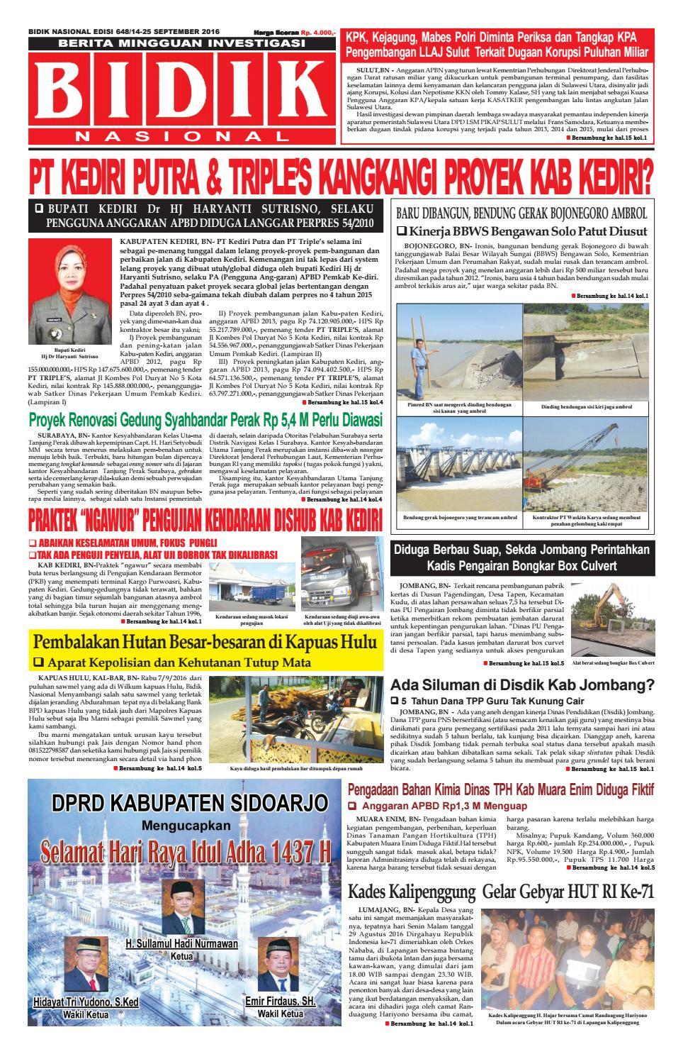 Edisi 648 By Bidik Nasional Issuu