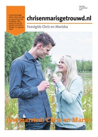 Voorkeur Feestgids Chris en Mariska by Gerard Brom - issuu #CK44