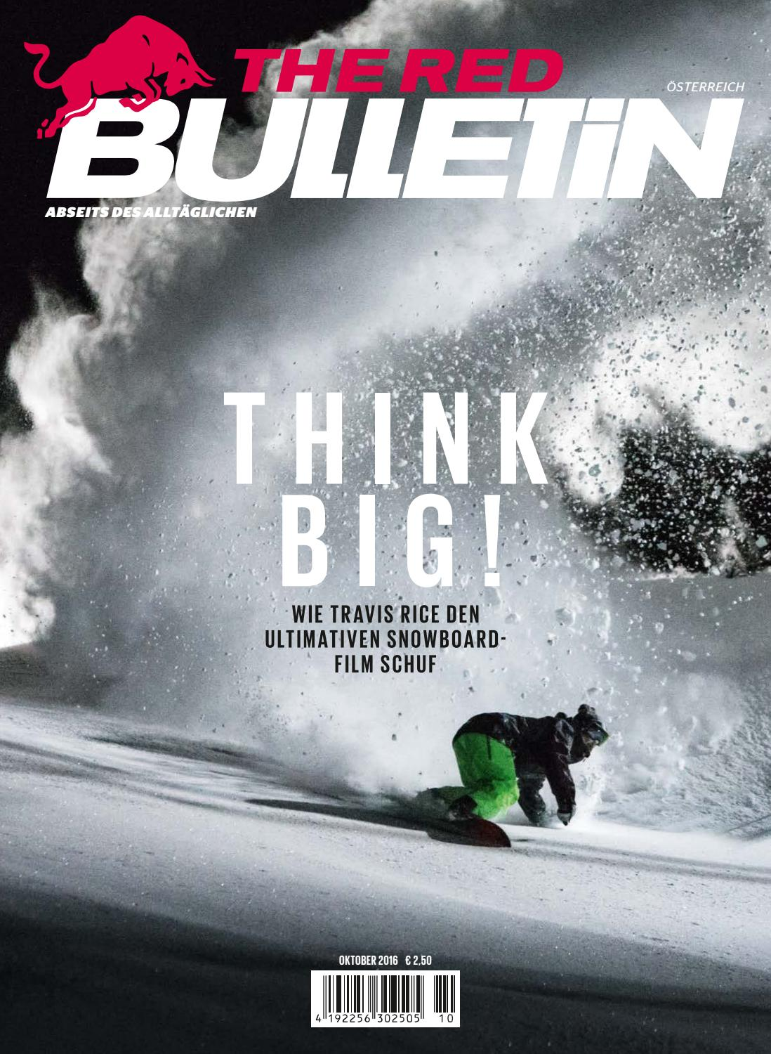 The Red Bulletin Oktober 2016 AT by Red Bull Media House