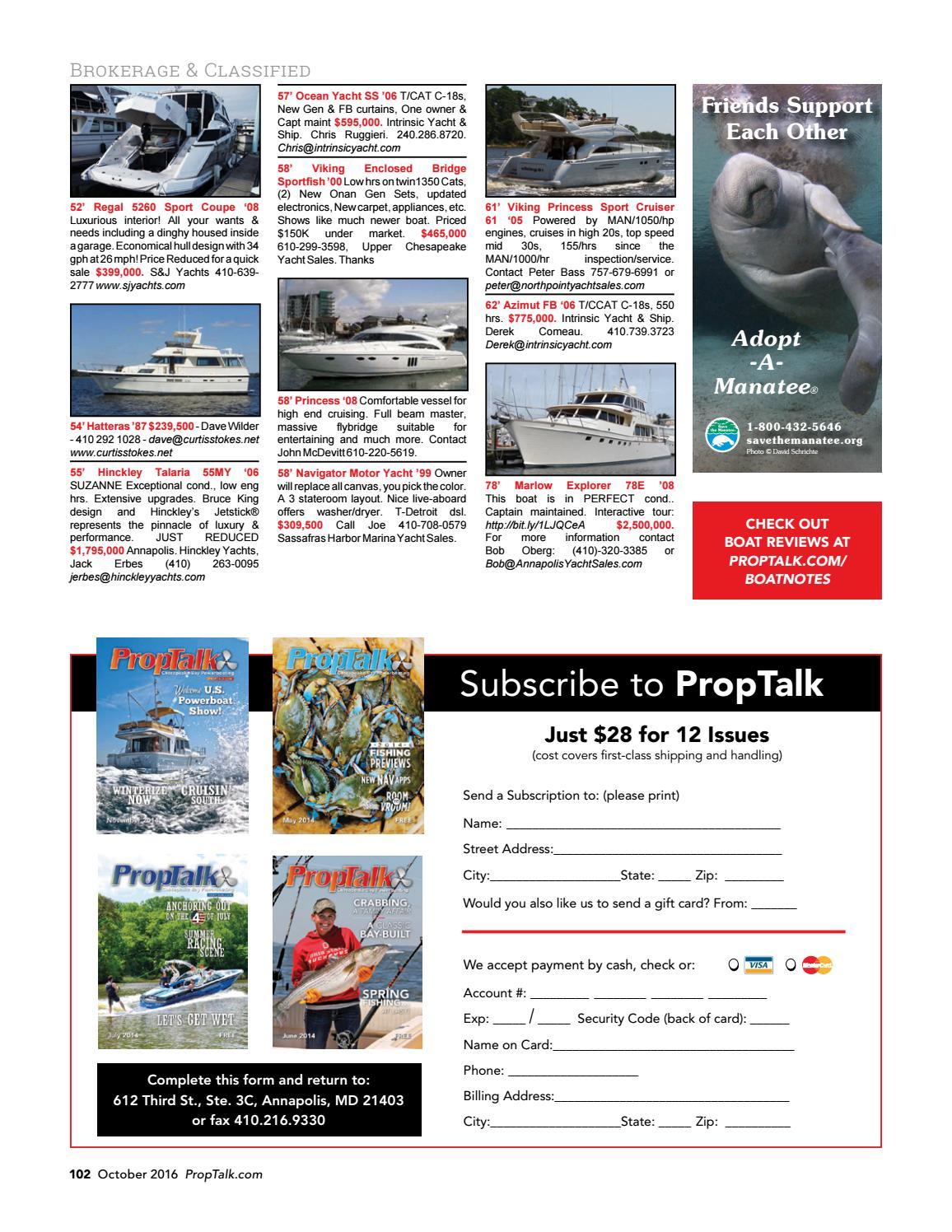 PropTalk Magazine October 2016 by SpinSheet Publishing
