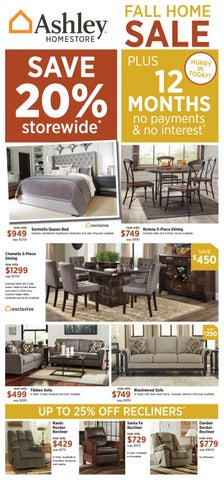 Wondrous Ashley Homestore Fall Home Sale Ends 10 10 16 By Ashley Caraccident5 Cool Chair Designs And Ideas Caraccident5Info