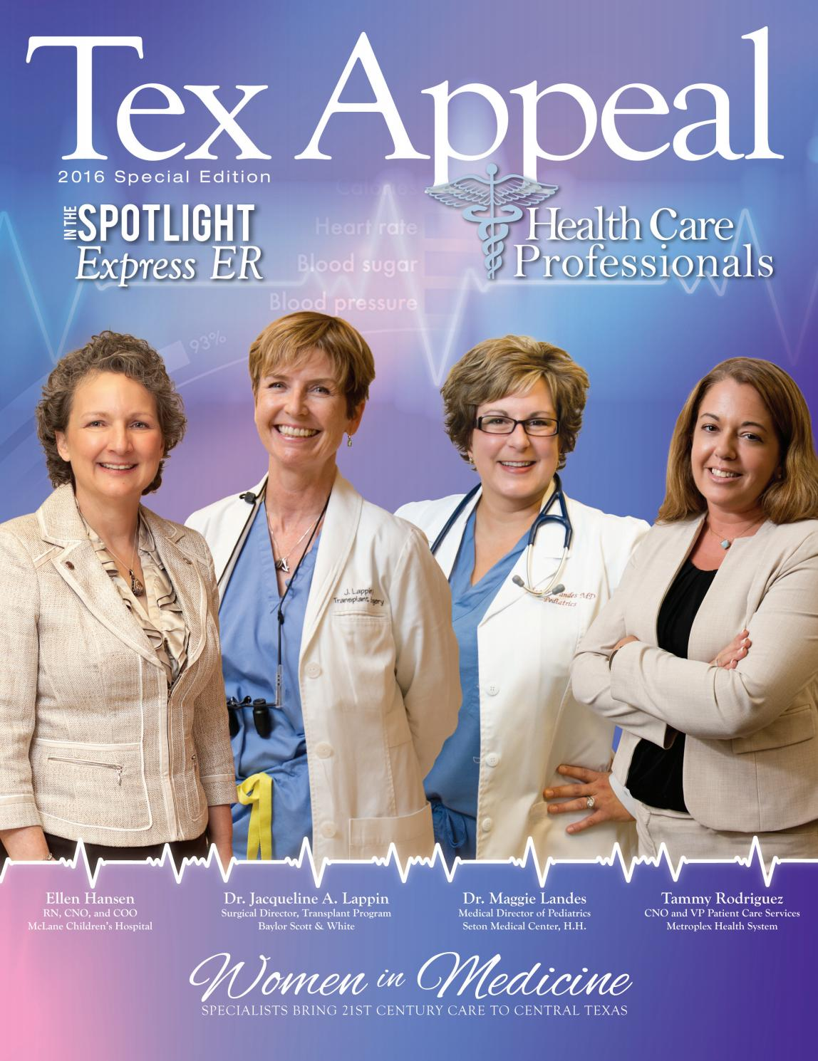 Tex Appeal Medical 2016 By Temple Daily Telegram Issuu
