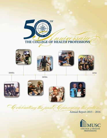 Chp Annual Report 2015 2016 By Musc Chp Issuu