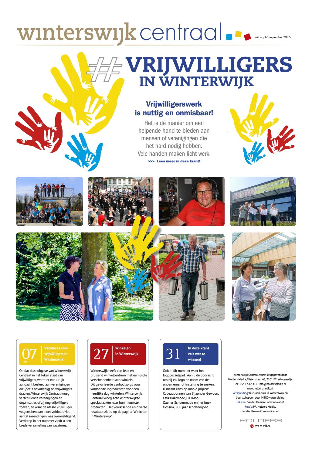 c235946d3fe35b Winterswijk centraal september 2016 by Holders Media - issuu