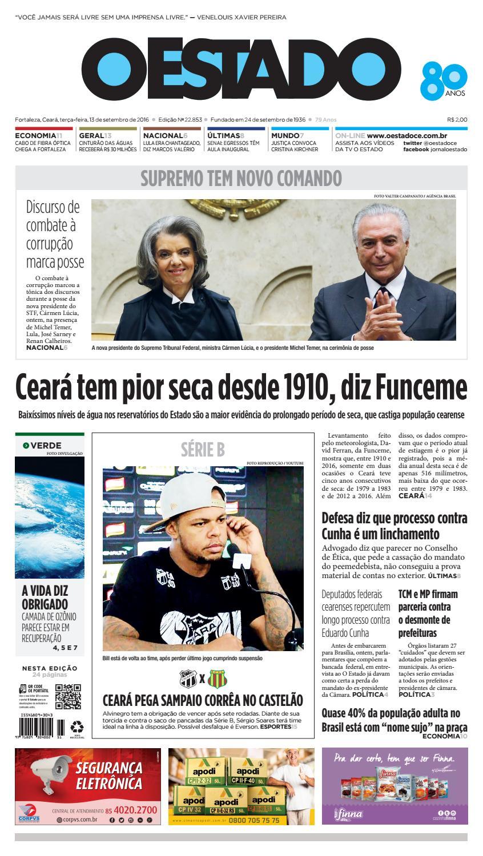 Edição desta terça-feira, 13 09 216 by Jornal O Estado (Ceará) - issuu c3e3f6937a