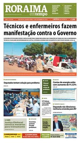 208cbb5d87345 Jornal roraima em tempo – edição 434 – período de visualização ...