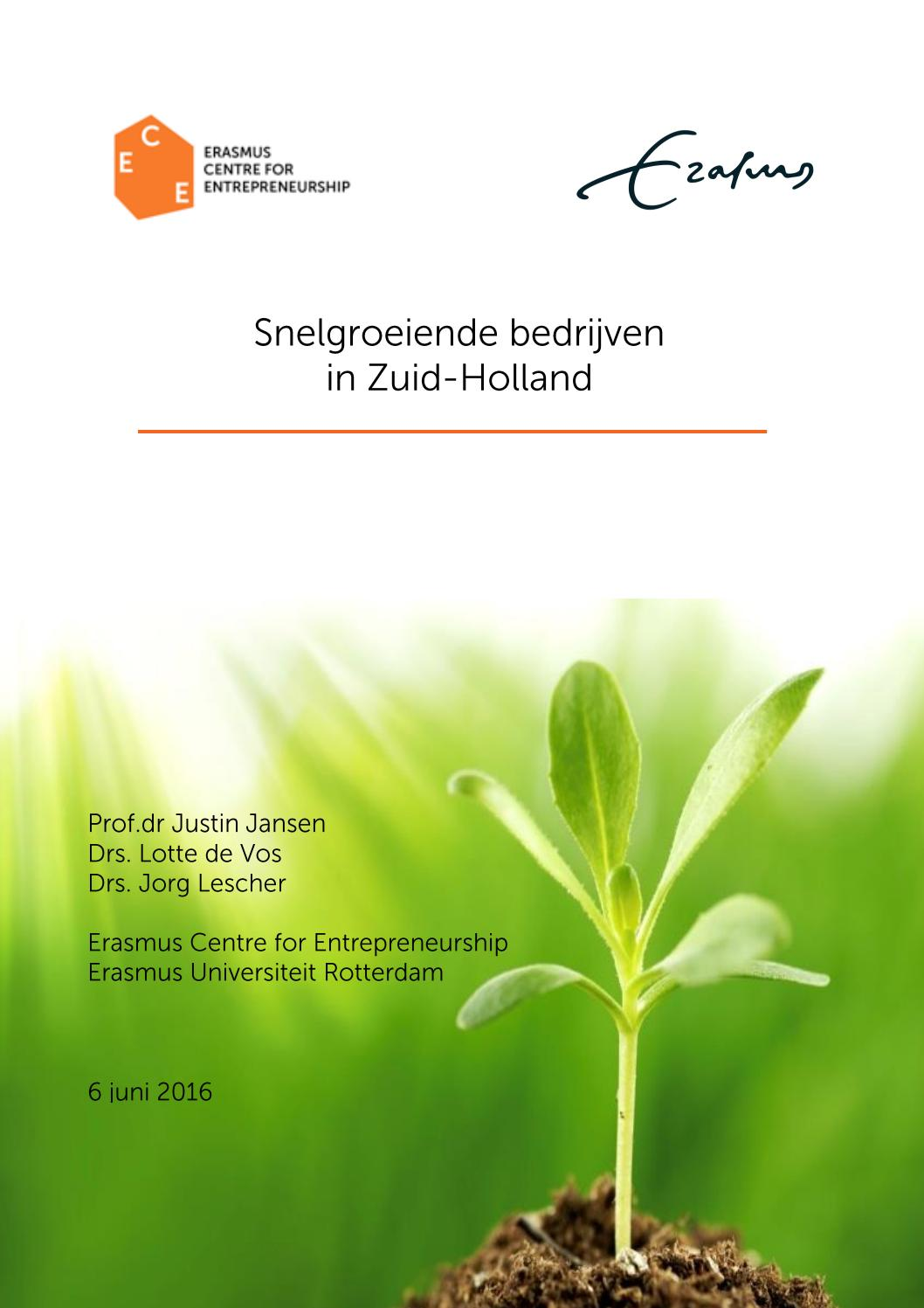 717c2dce863 Onderzoek scale-ups Zuid-Holland 2016 by InnovationQuarter - issuu