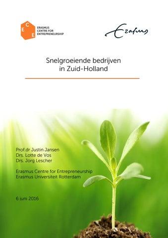 ab463afd728 De provincie Zuid-Holland kent 648 snelgroeiende bedrijven; 23 procent van  het totaal aantal snelgroeiende bedrijven in Nederland.
