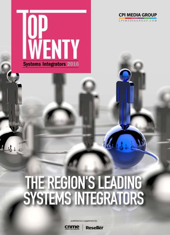Top Twenty - Systems Integrators 2016 by Computernews Middle