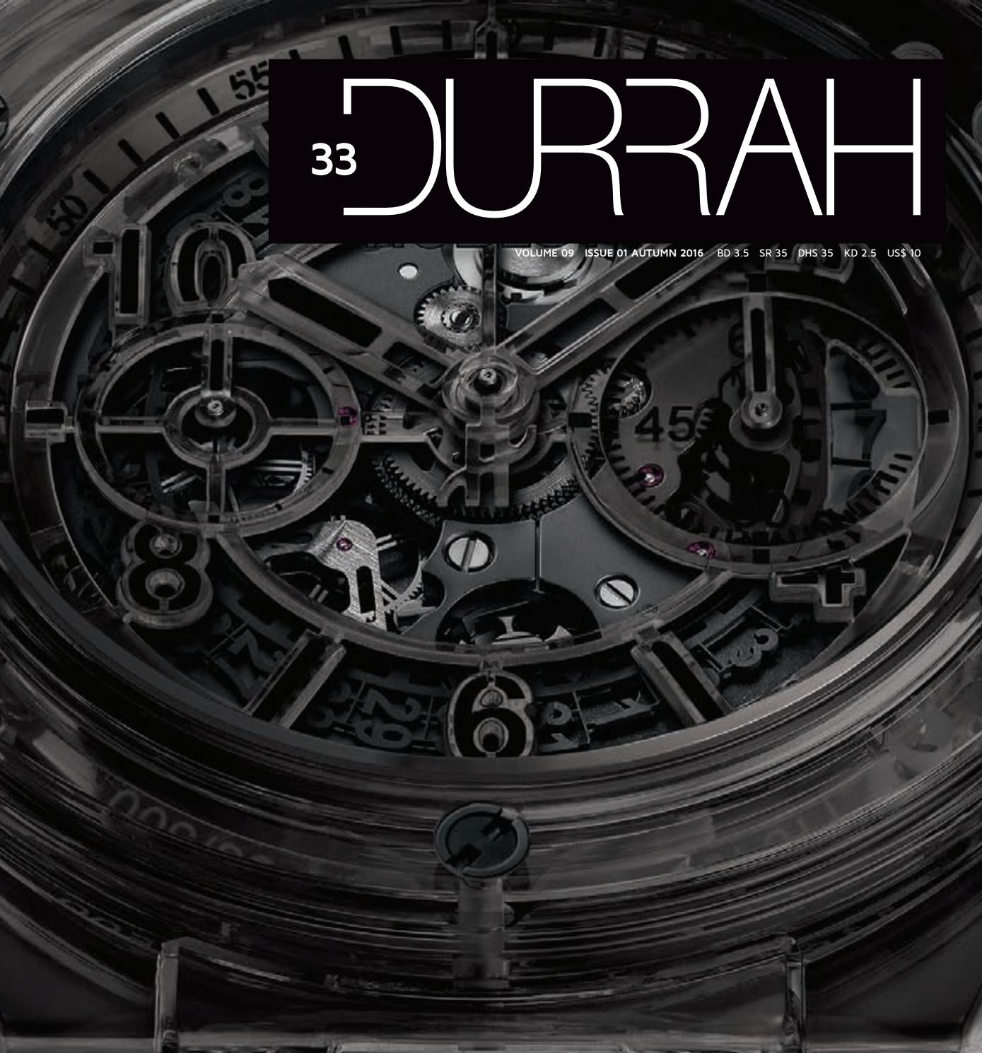 Durrah Issue 33 By Luxury Issuu Tb Duet Chain Convertible
