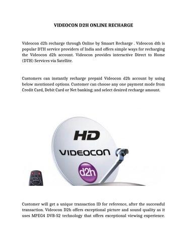 Videocond2honlinerecharge by smaartfreebies - issuu