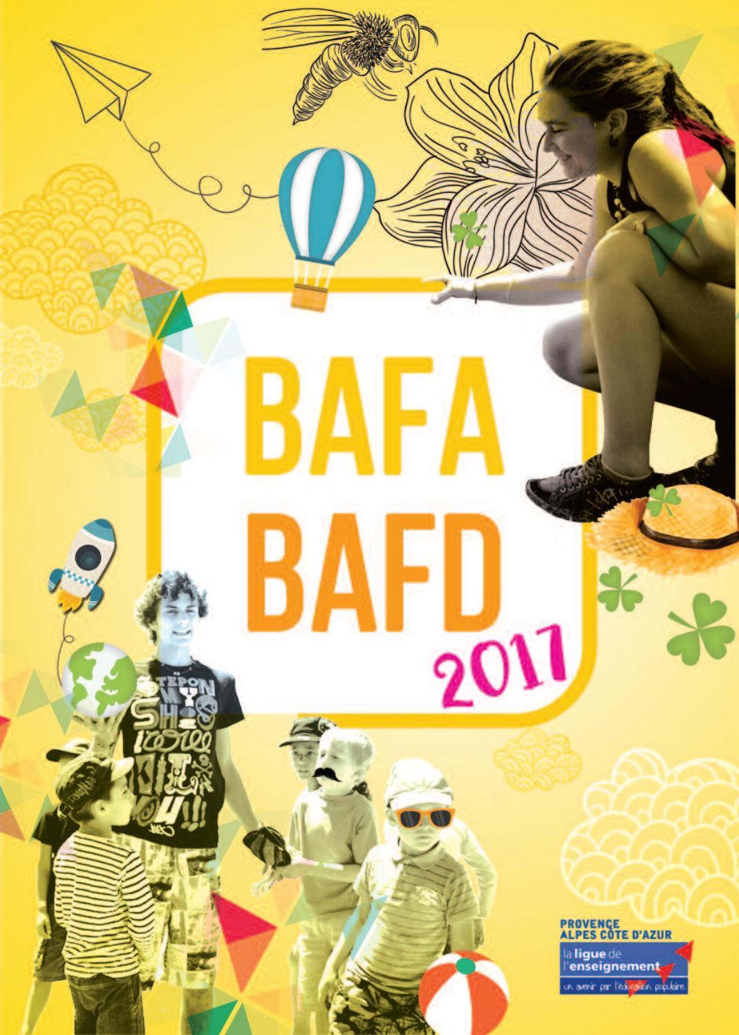Plaquette BAFABAFD 2017 by La Ligue de l'enseignement