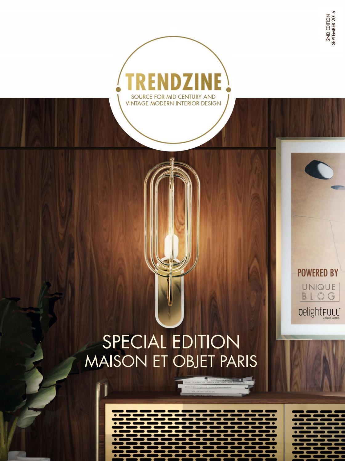 Chesterfield Maison Du Monde trendzine 2nd edition | mid century interiors by delightfull