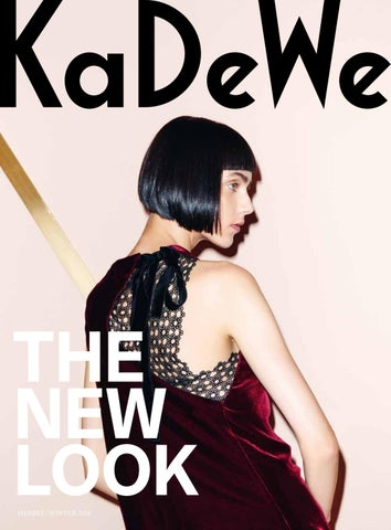3 2016 HW Berlin issuu KaDeWe by KaDeWe eW9IYE2DH