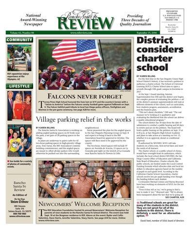 7e9d52d4547f Rancho santa fe review 09 15 16 by MainStreet Media - issuu