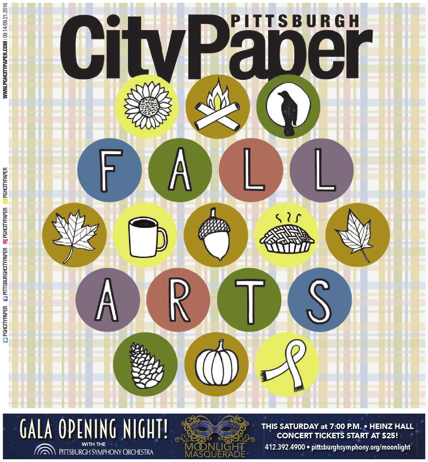 September 14 2016 Pittsburgh City Paper by Pittsburgh City Paper