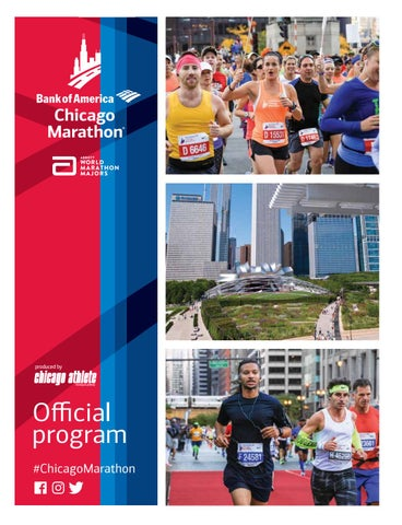 Bank of America Chicago Marathon Program 2016 by Kelli L - issuu f5c160df7
