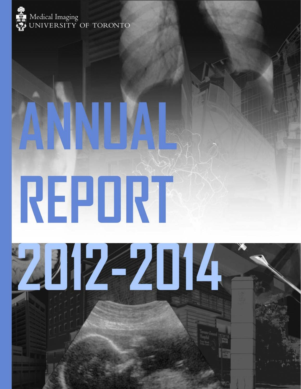 Annual Report 2012-2014 by Department of Medical Imaging, University of  Toronto - issuu e068b11c97be
