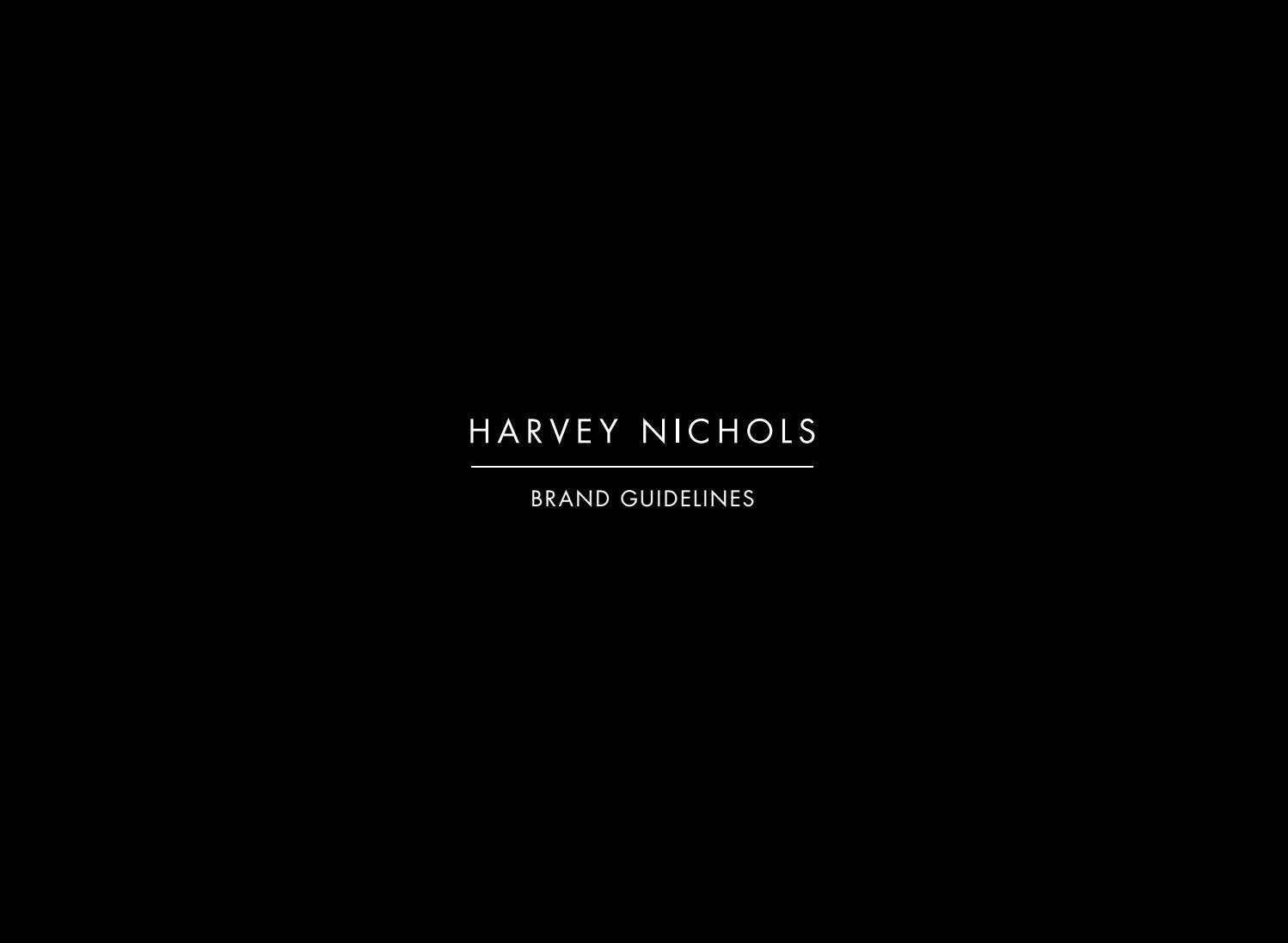 Brand guidelines internal by Harvey Nichols - issuu ed4aa0c3aef6d