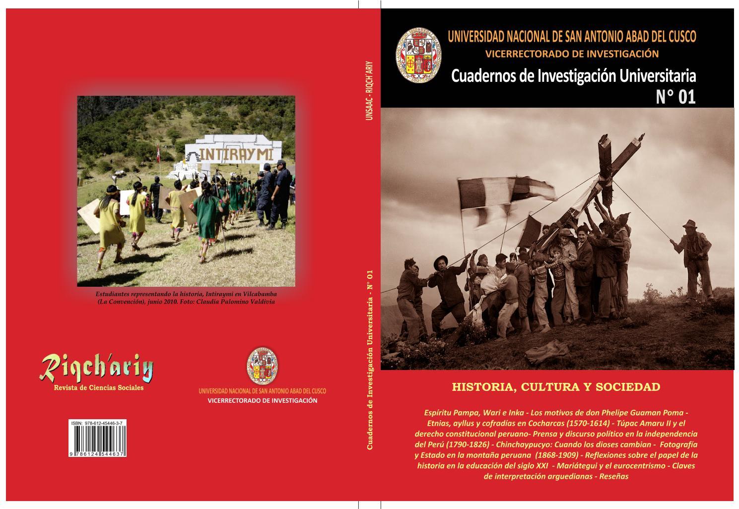 Cuadernos de Investigación N° 01 by Edgard villafuerte acuña - issuu