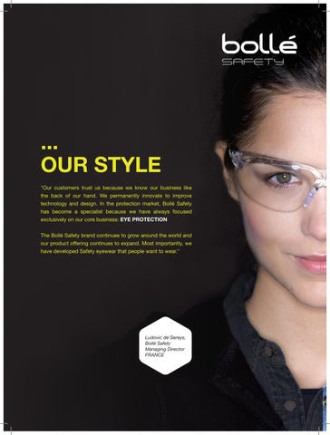 6e30ba094f82 Bollé Safety 2016 Collection by Bolle Safety - issuu