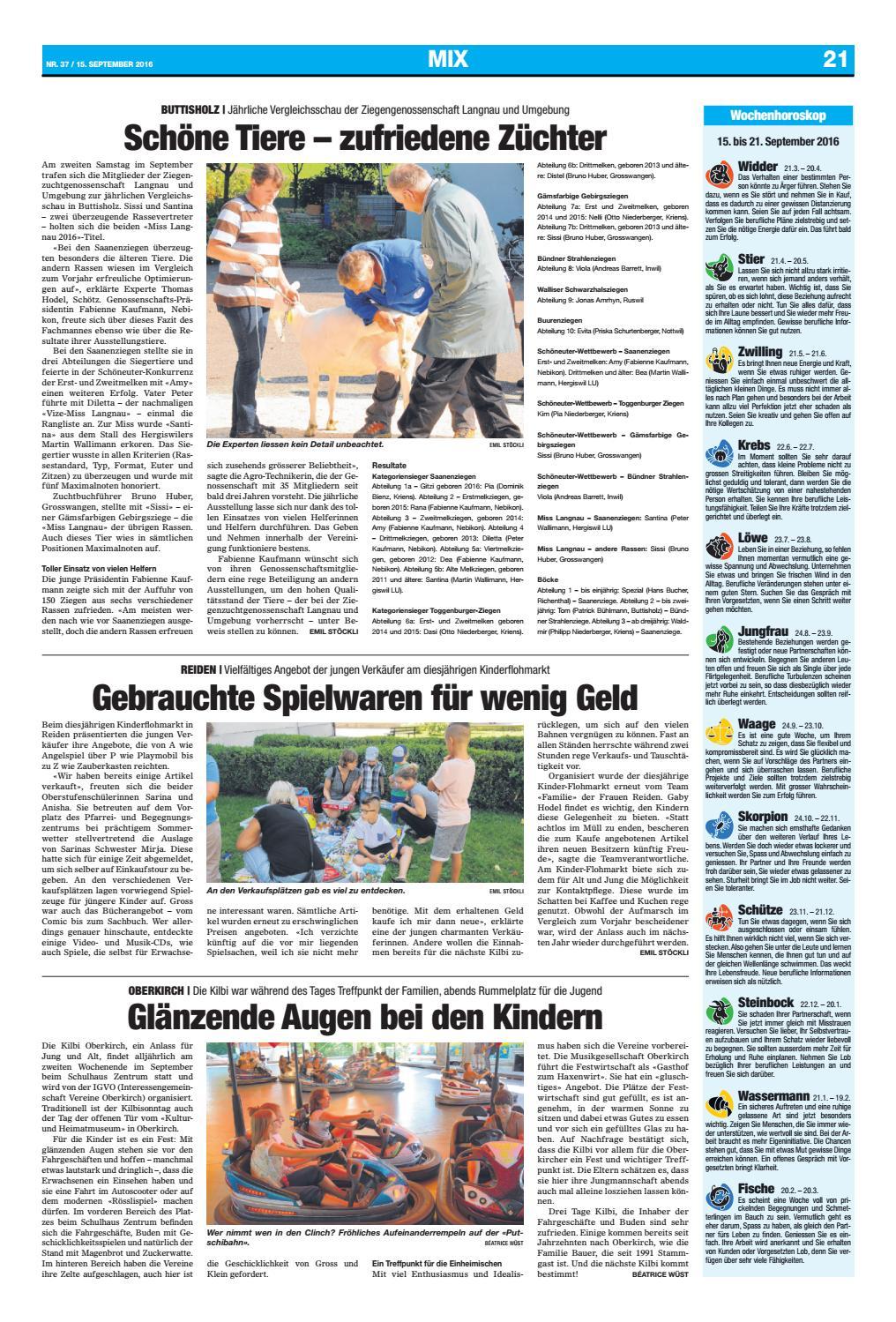 12. Runde SV Wiler-Ersigen - Tigers Langnau 4:3 // Jung und