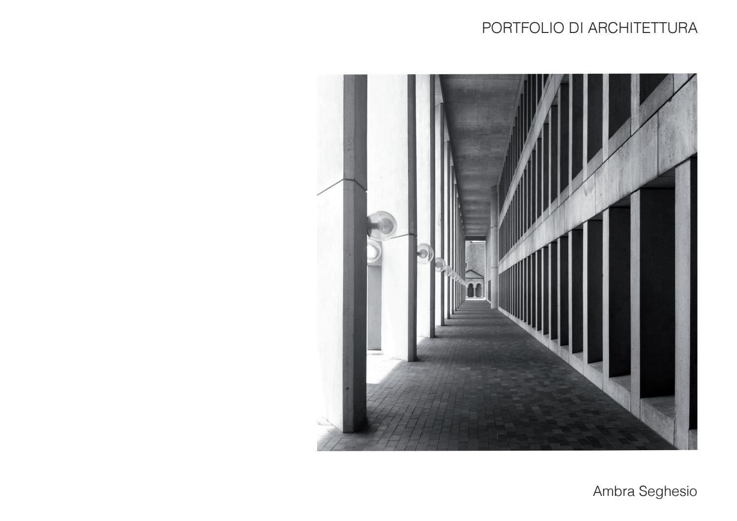 Studi Di Architettura Cuneo ambra seghesio portfolio di architettura by ambra seghesio
