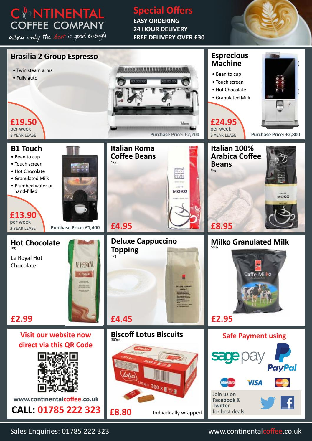 Ccc mailer leaflet issue 6 a4 4 page catering [ken] by CIM Online