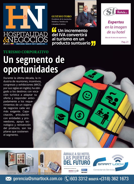 Hospitalidad y Negocios Colombia Nº 26 by Ladevi Media & Solutions ...
