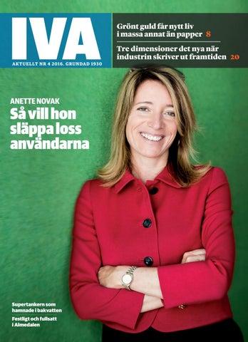 IVA Aktuellt nr 4 2016 by Kungl. Ingenjörsvetenskapsakademien 3d12a9779173f