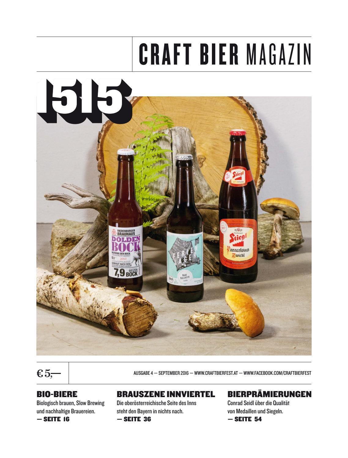1515 Craft Bier Magazin #04 – September/Oktober 2016 by Craft Bier ...