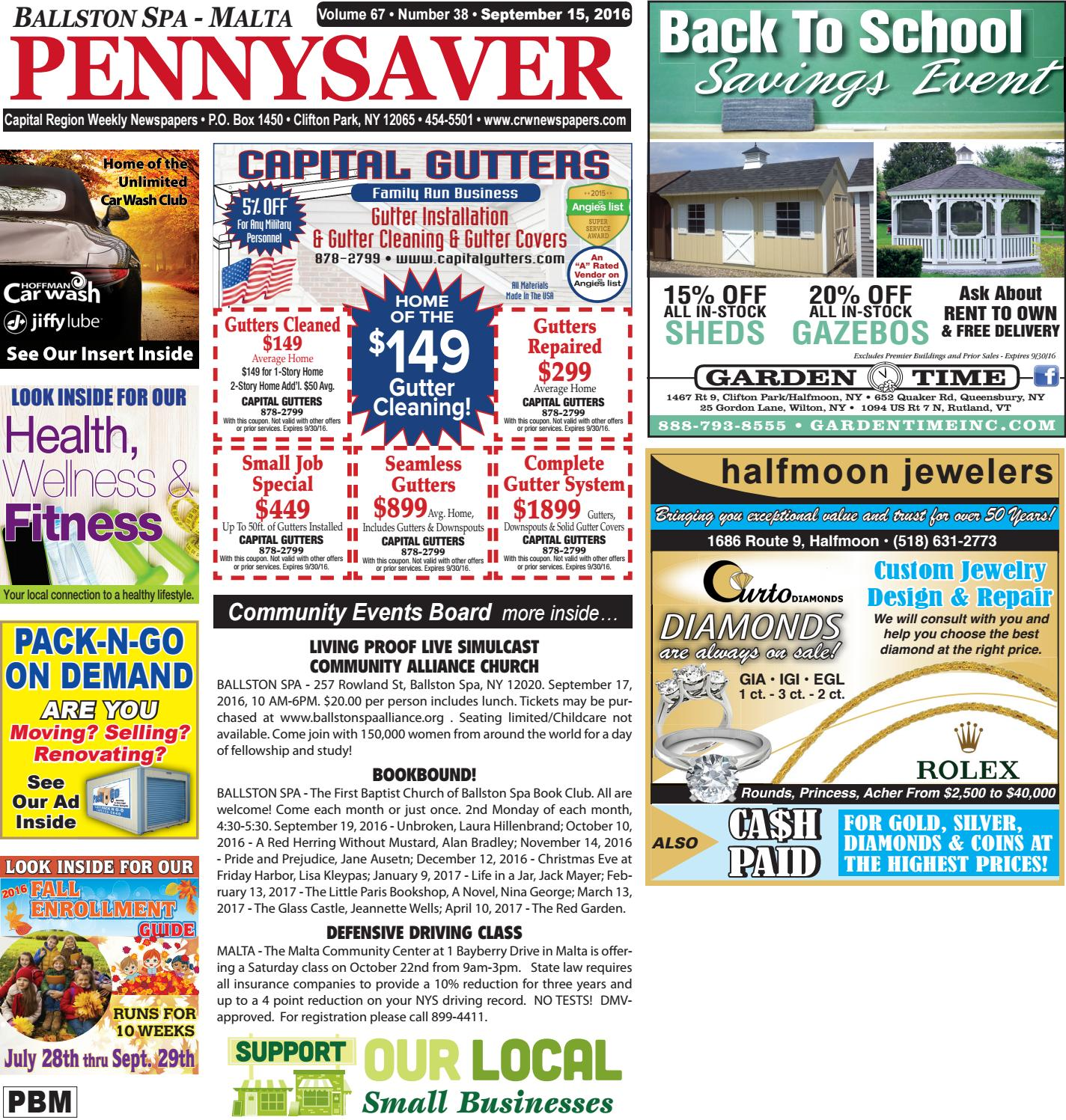 Ballston Spa Malta Pennysaver 091516 By Capital Region