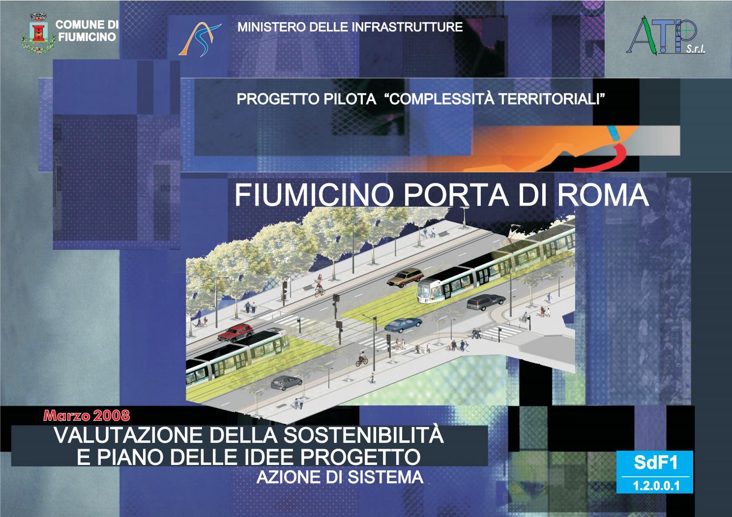fiumicino porta di roma_sdf1 by andrea spinosa - issuu - La Sede Del Progetto E Larredamento Propan