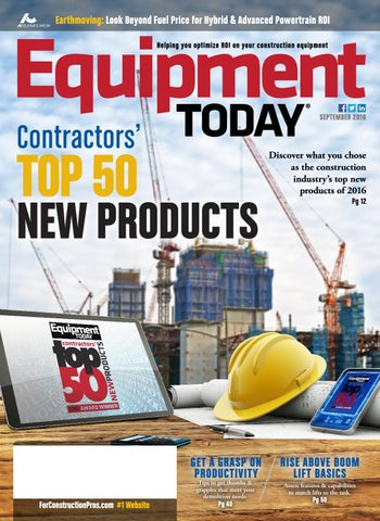 Equipment Today September 2016 by ForConstructionPros com