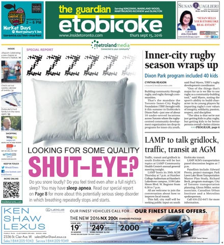 The etobicoke guardian central september 15 2016 by the etobicoke page 1 solutioingenieria Choice Image