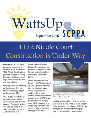 Newsletter sep 2016 by SCPPA - issuu