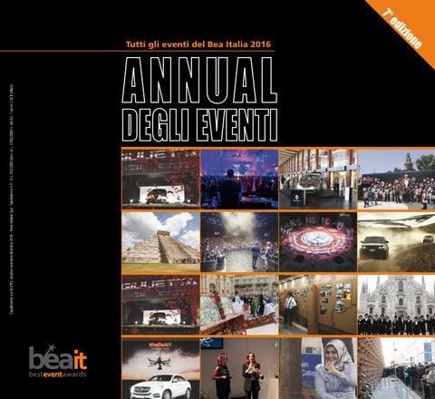 Annual degli Eventi 2016 - Bea Italia by ADC Group - issuu db4b61b6db90