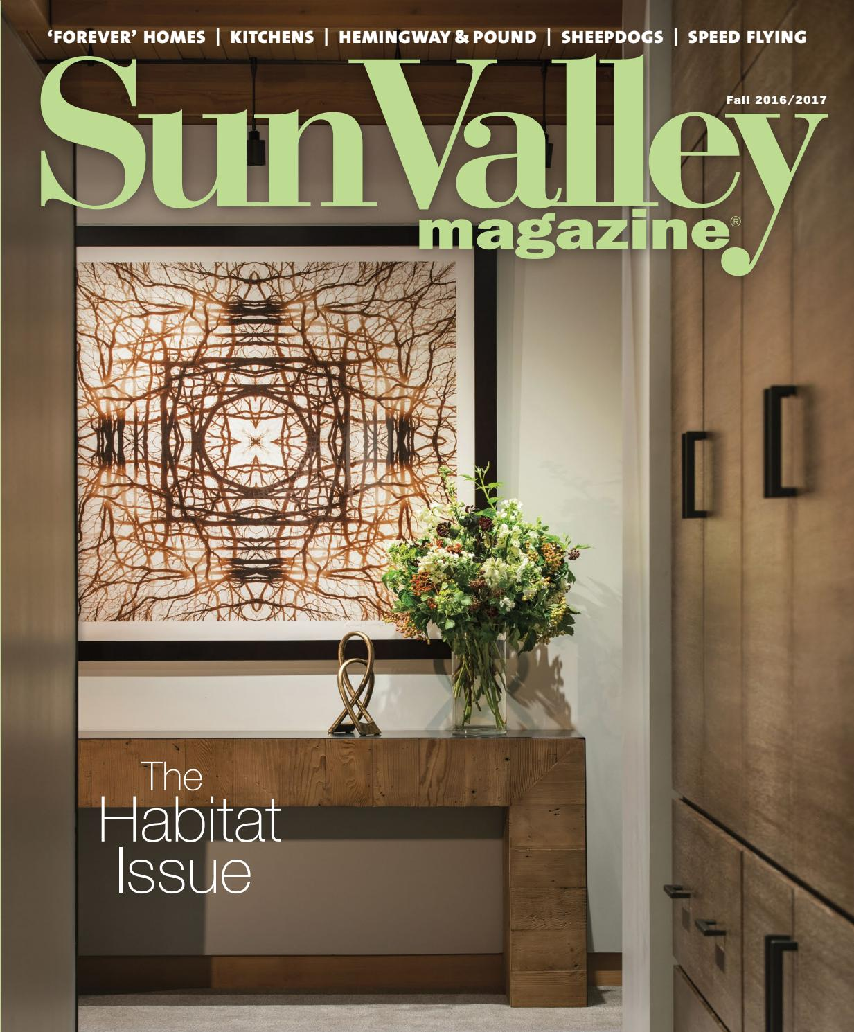 Sun Valley Magazine | Fall HOME 2016 by Sun Valley Magazine - issuu