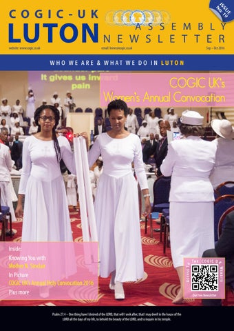 Issue19 by COGIC UK Luton Assembly Newsletter - issuu