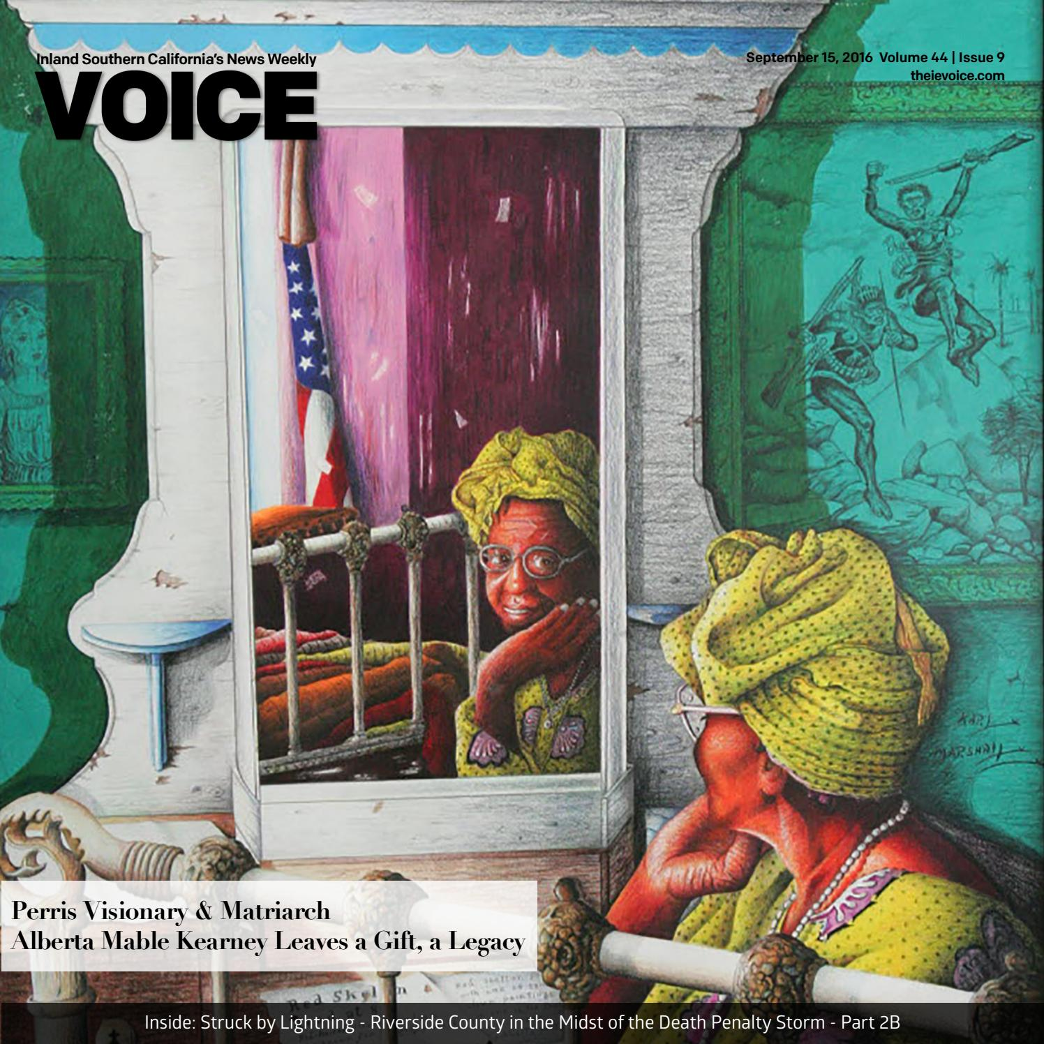 VOICE Issue September 15, 2016 by Brown Publishing Co - issuu